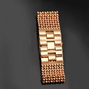 Montre Bracelet strass de luxe pour femmes montres en or Rose pour femmes montre de mode pour femmes horloge reloj mujer relogio feminino 1