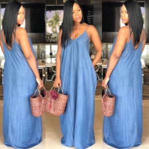 Mode femmes Jean robes