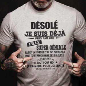 T-Shirt This man is taken